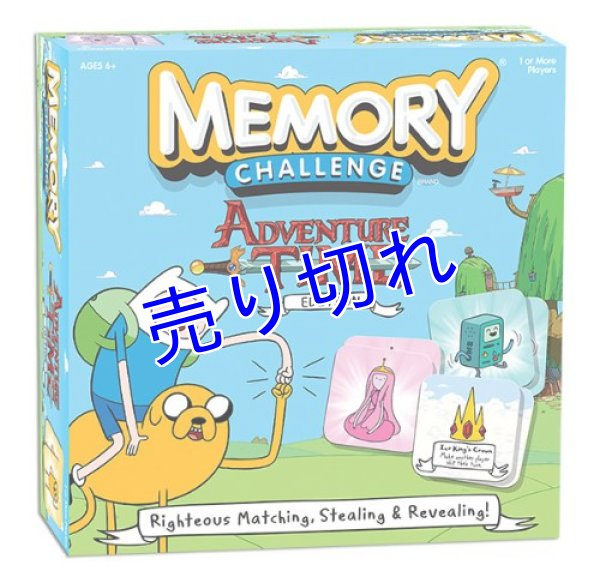 画像1: Adventure Time Memory Challenge (神経衰弱ゲームカード) (1)