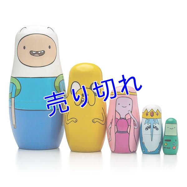 画像1: Adventure Time マトリョーシカ人形 (1)
