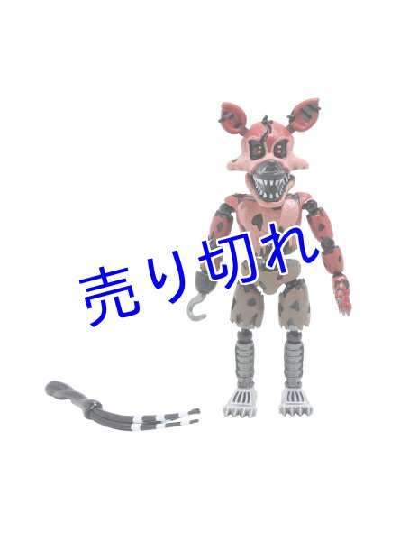 画像1: Five Nights at Freddy's アクションフィギュア(Nightmare Foxy) (1)