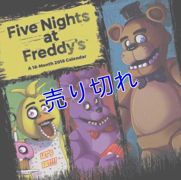 画像1: Five Nights at Freddy's 2018 カレンダー(壁掛けタイプ) Lサイズ (1)