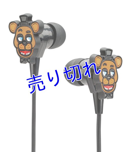 画像1: Five Nights at Freddy's イヤホン(Freddy) (1)