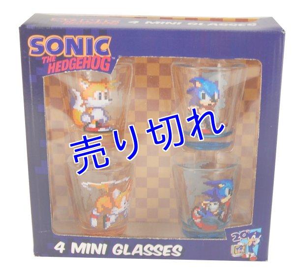 画像1: Sonic ショットグラス(セット) (1)